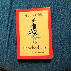 Knocked Up by Rebecca Eckler Paperback Book GUC